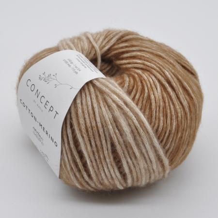 Пряжа для вязания и рукоделия Cotton Merino (Katia) цвет 303, 105 м