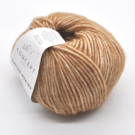 Пряжа для вязания и рукоделия Cotton Merino (Katia) цвет 123, 105 м