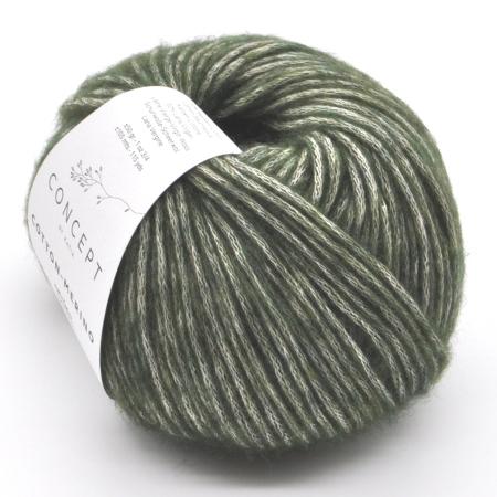 Пряжа для вязания и рукоделия Cotton Merino (Katia) цвет 122, 105 м