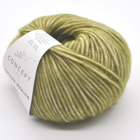 Пряжа для вязания и рукоделия Cotton Merino (Katia) цвет 114, 105 м