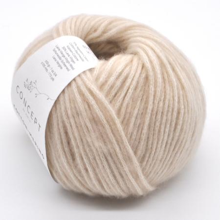 Пряжа для вязания и рукоделия Cotton Merino (Katia) цвет 101, 105 м