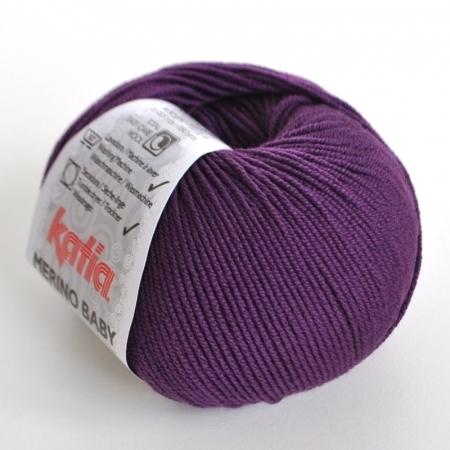 Пряжа для вязания и рукоделия Merino Baby (Katia) цвет 48, 165 м
