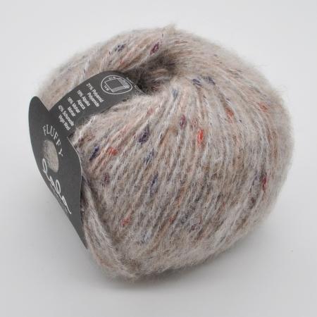 Пряжа для вязания и рукоделия Lala Berlin Fluffy (Lana Grossa) цвет 101, 130 м