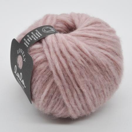 Пряжа для вязания и рукоделия Lala Berlin Lovely (Lana Grossa) цвет 001, 90 м