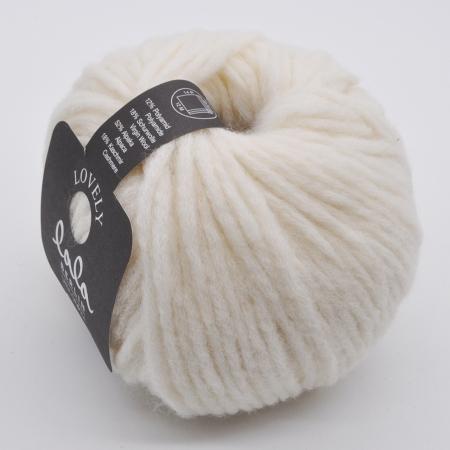 Пряжа для вязания и рукоделия Lala Berlin Lovely (Lana Grossa) цвет 003, 90 м