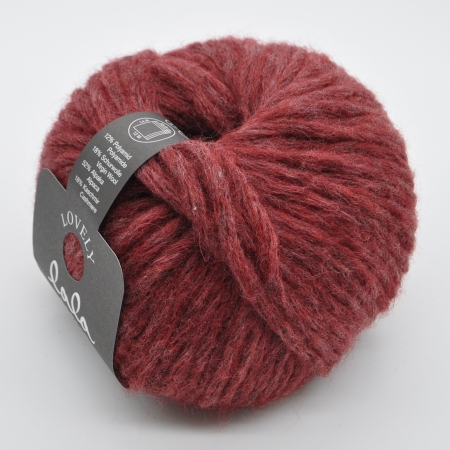 Пряжа для вязания и рукоделия Lala Berlin Lovely (Lana Grossa) цвет 012, 90 м