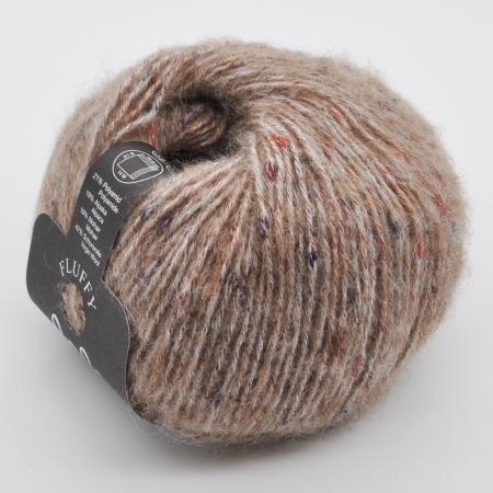 Пряжа для вязания и рукоделия Lala Berlin Fluffy (Lana Grossa) цвет 102, 130 м