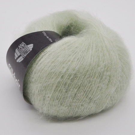 Пряжа для вязания и рукоделия Silkhair (Lana Grossa) цвет 104, 210 м