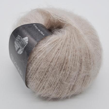 Пряжа для вязания и рукоделия Silkhair (Lana Grossa) цвет 18, 210 м