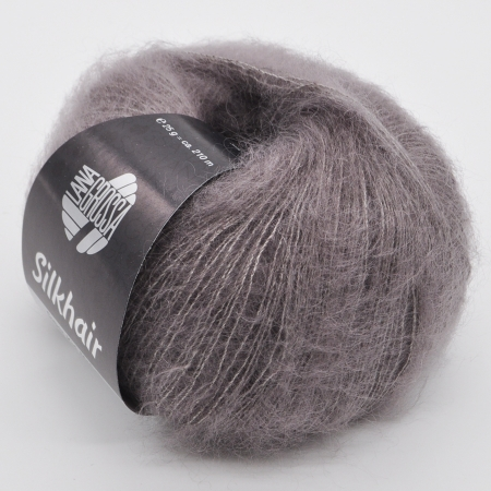 Пряжа для вязания и рукоделия Silkhair (Lana Grossa) цвет 35, 210 м