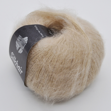 Пряжа для вязания и рукоделия Silkhair (Lana Grossa) цвет 96, 210 м