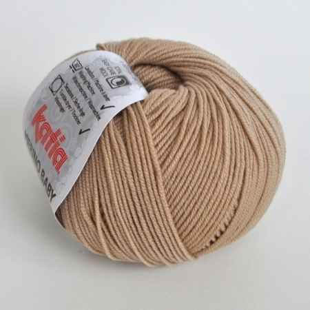 Пряжа для вязания и рукоделия Merino Baby (Katia) цвет 43, 165 м