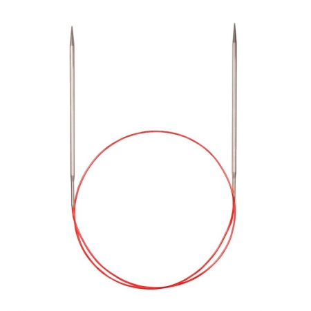 Спицы для кругового вязания с удлиненным кончиком 775-7, 100 см / 3.5 мм (Addi)
