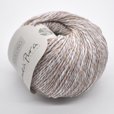 Пряжа для вязания и рукоделия Collino (Lana Grossa) цвет 001, 135 м