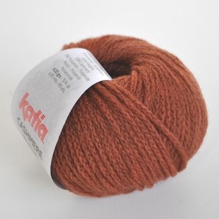 Пряжа для вязания и рукоделия Cashmere Blend (Katia) цвет 75, 85 м