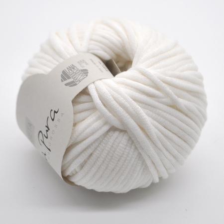 Пряжа для вязания и рукоделия Cashseta (Lana Grossa) цвет 008, 100 м
