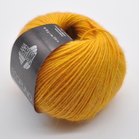 Пряжа для вязания и рукоделия Ecopuno (Lana Grossa) цвет 004, 215 м