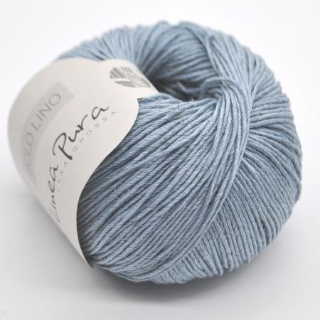 Пряжа для вязания и рукоделия Solo Lino (Lana Grossa) цвет 22, 120 м