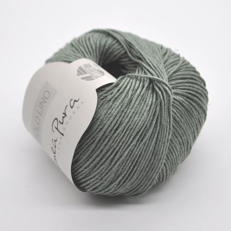 Пряжа для вязания и рукоделия Solo Lino (Lana Grossa) цвет 20, 120 м