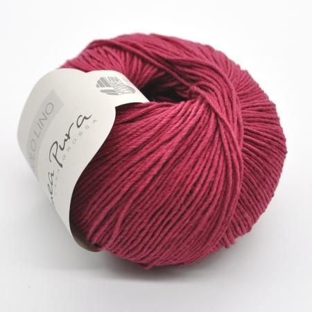 Пряжа для вязания и рукоделия Solo Lino (Lana Grossa) цвет 17, 120 м