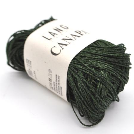 Пряжа для вязания и рукоделия Canapa (Lang Yarns) цвет 0018, 80 м