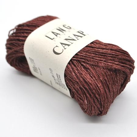 Пряжа для вязания и рукоделия Canapa (Lang Yarns) цвет 0063, 80 м