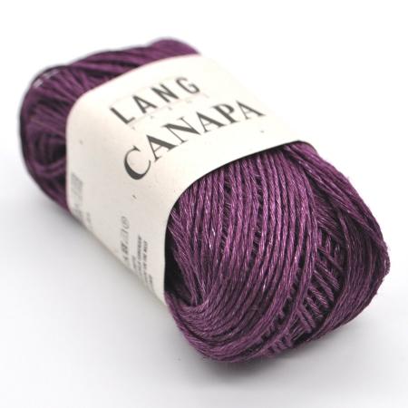 Пряжа для вязания и рукоделия Canapa (Lang Yarns) цвет 0065, 80 м