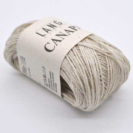 Пряжа для вязания и рукоделия Canapa (Lang Yarns) цвет 0096, 80 м
