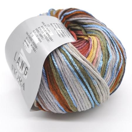 Пряжа для вязания и рукоделия Fiora (Lang Yarns) цвет 0067, 145 м