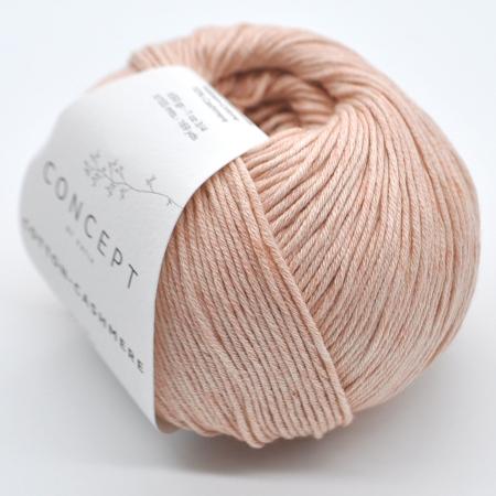 Пряжа для вязания и рукоделия Cotton-Cashmere (Katia) цвет 66, 155 м