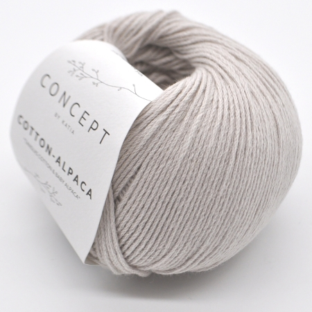 Пряжа для вязания и рукоделия Cotton-Alpaca (Katia) цвет 82, 150 м