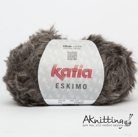 Пряжа для вязания и рукоделия Eskimo (Katia) цвет 71, 90 м