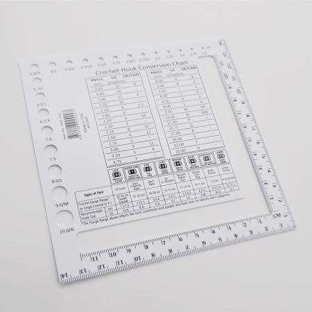 Линейка - калибратор для определения плотности полотна и спиц Chiaogoo