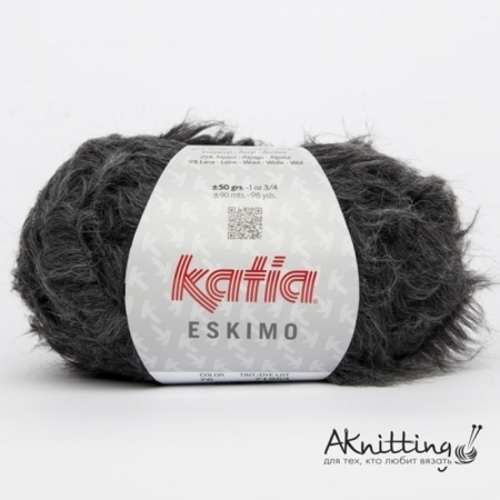 Пряжа для вязания и рукоделия Eskimo (Katia) цвет 76, 90 м