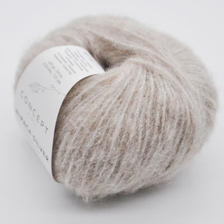 Пряжа для вязания и рукоделия Alpaca Silver (Katia) цвет 251, 120 м