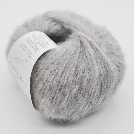 Пряжа для вязания и рукоделия Alpaca Silver (Katia) цвет 255, 120 м