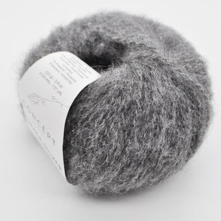 Пряжа для вязания и рукоделия Alpaca Silver (Katia) цвет 256, 120 м