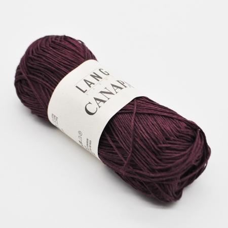 Пряжа для вязания и рукоделия Canapa (Lang Yarns) цвет 0064, 80 м