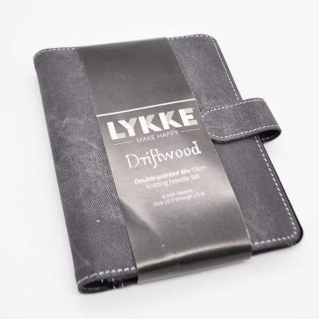 Набор чулочных спиц Lykke, длина 15 см, размеры 2 - 3.75 мм, цвет Grey