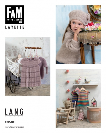 Журнал Lang Yarns FAM LAYETTE 250 (Lang Yarns)