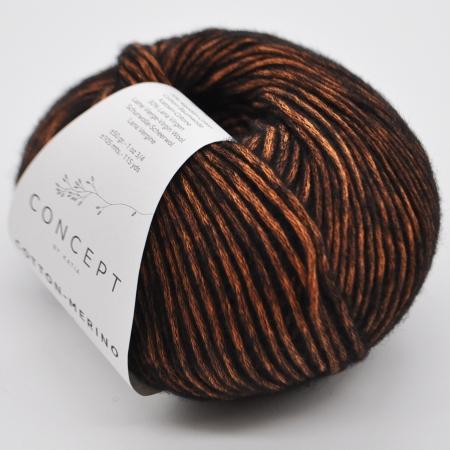 Пряжа для вязания и рукоделия Cotton Merino (Katia) цвет 052, 105 м