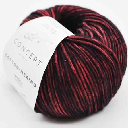 Пряжа для вязания и рукоделия Cotton Merino (Katia) цвет 053, 105 м