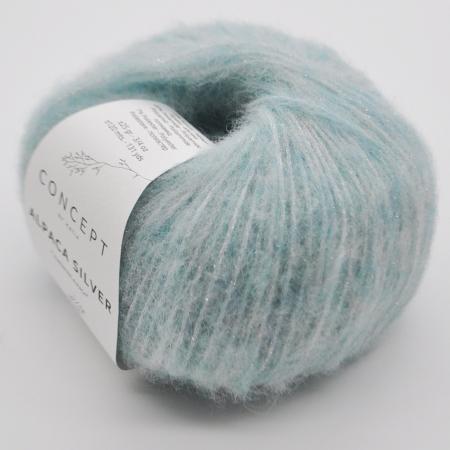 Пряжа для вязания и рукоделия Alpaca Silver (Katia) цвет 264, 120 м