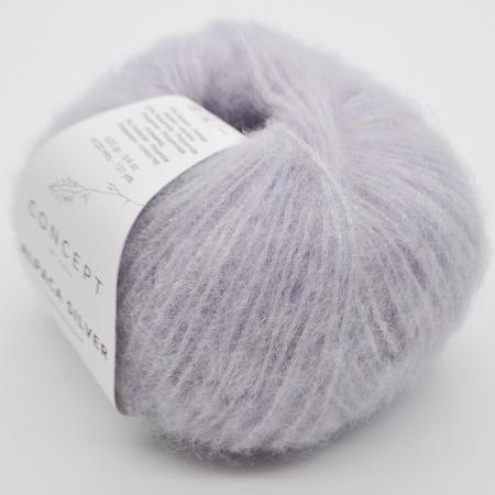 Пряжа для вязания и рукоделия Alpaca Silver (Katia) цвет 265, 120 м