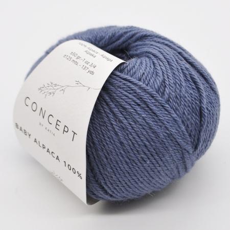 Пряжа для вязания и рукоделия Baby Alpaca (Katia) цвет 519, 125 м