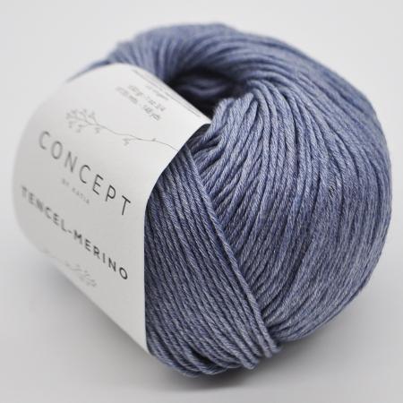 Пряжа для вязания и рукоделия Tencel-Merino (Katia) цвет 55, 135 м