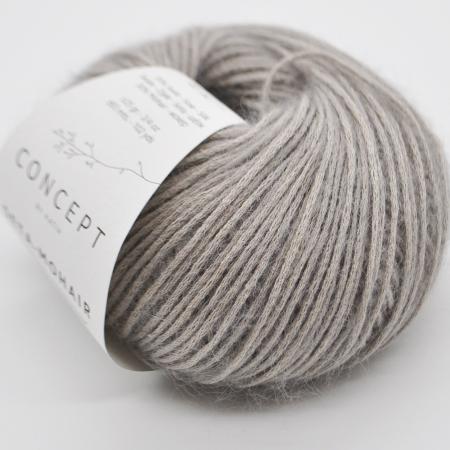 Пряжа для вязания и рукоделия Seta-Mohair (Katia) цвет 306, 93 м
