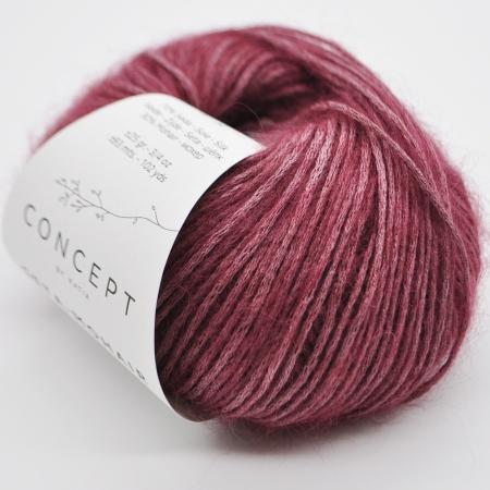 Пряжа для вязания и рукоделия Seta-Mohair (Katia) цвет 309, 93 м