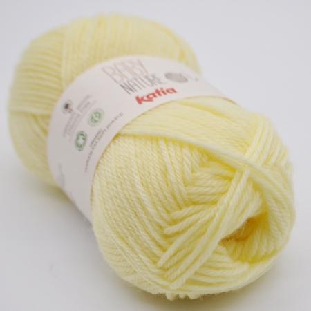 Пряжа для вязания и рукоделия Baby Nature (Katia) цвет 109, 110 м