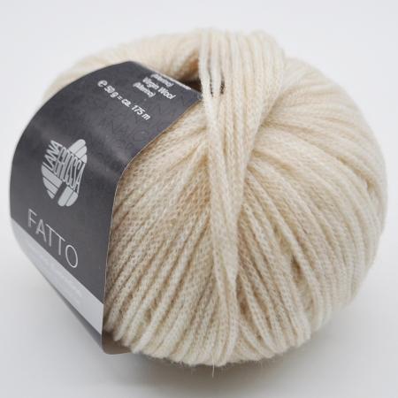 Fatto (Lana Grossa) цвет 001, 175 м